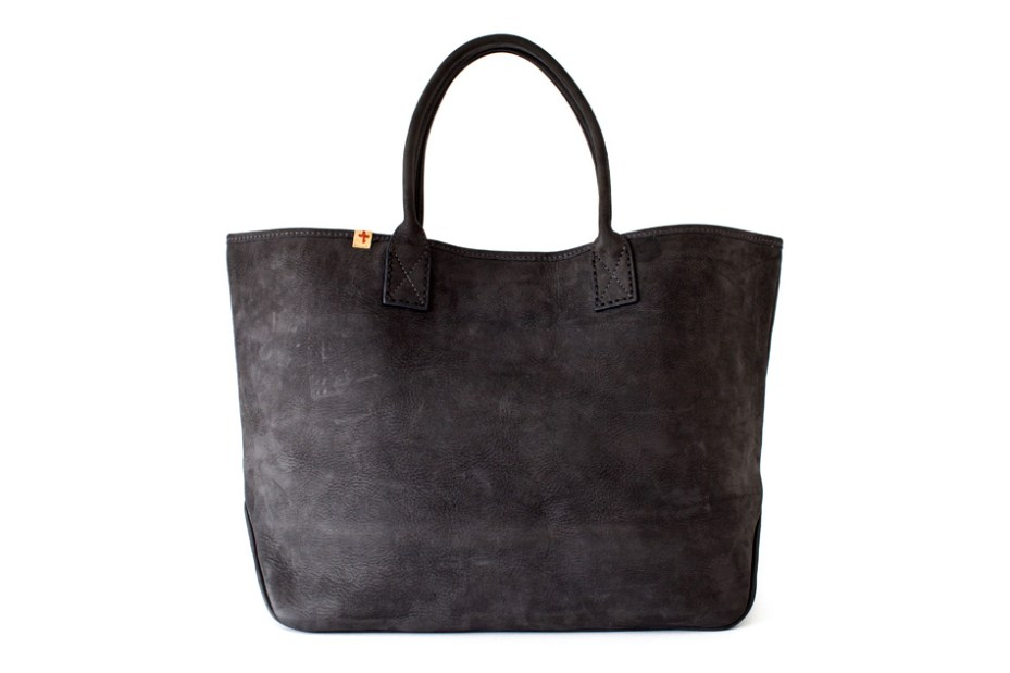 Image of visvim LEATHER HOMER TOTE (L) *F.I.L. EXCLUSIVE