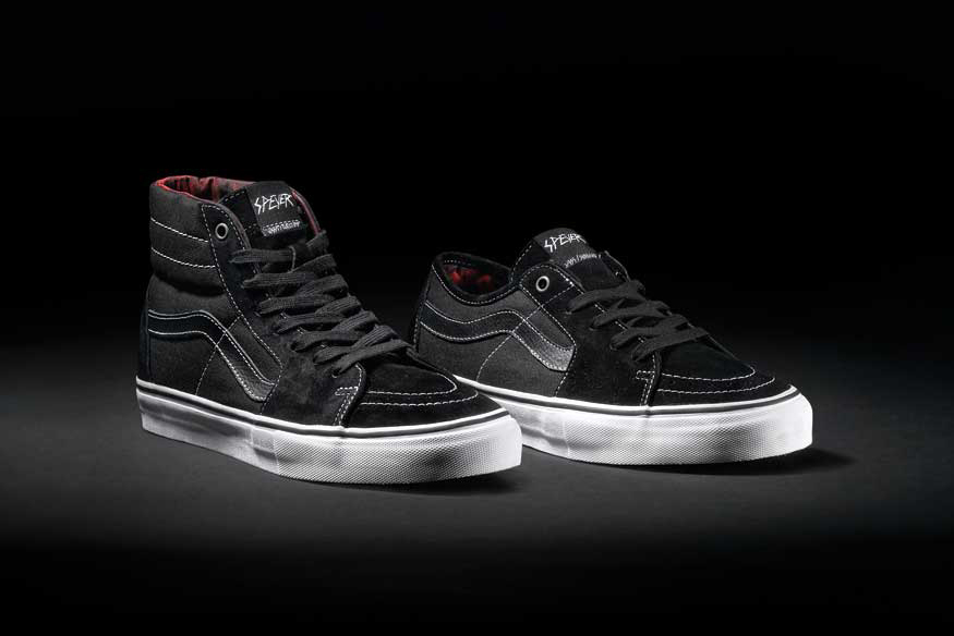 "Image of Wade Speyer x Vans Syndicate Sk8-Hi '91 Pro ""S"" & Sk8-Low ""S"""