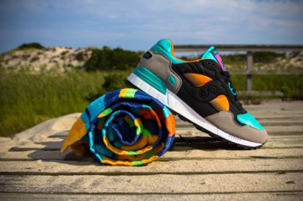 "Image of WEST NYC x Saucony Shadow 5000 ""Tequila Sunrise"""