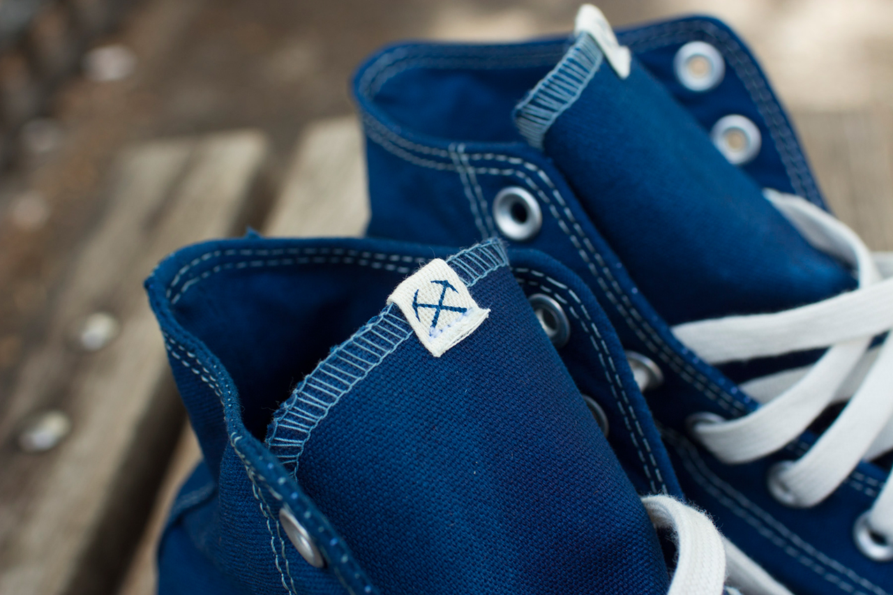 Image of 3sixteen x Converse Indigo-Dyed Chuck Taylor All Star