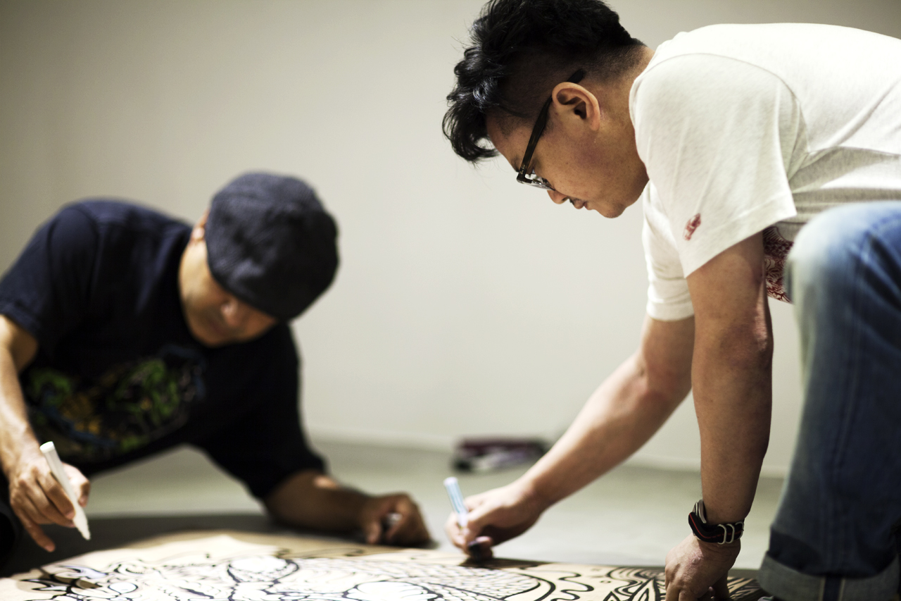 "Image of Steve Caballero and Jahan Loh Talk About ""DOUBLE DRAGON"" Exhibition, Skateboarding and Art"