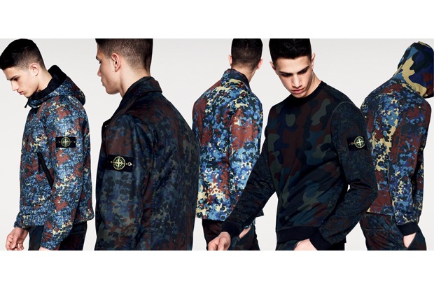 Image of Stone Island 2013 Fall/Winter Camouflage