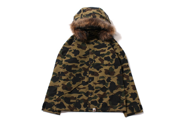 Image of A Bathing Ape 2013 Fall/Winter 1ST CAMO GORE-TEX ECWCS HOODIE