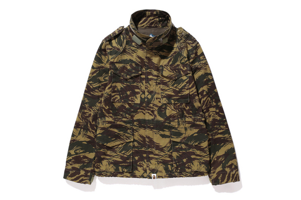 Image of A Bathing Ape 2013 Fall/Winter LIZARD CAMO M-65