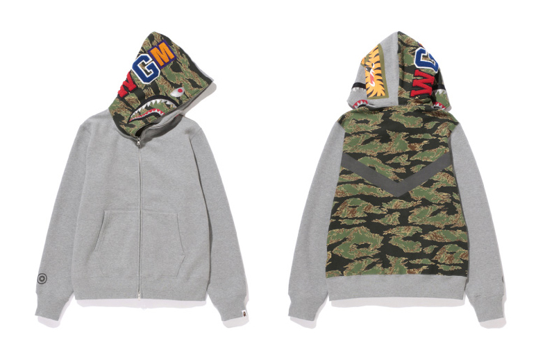 Image of A Bathing Ape for ZOZOTOWN 2013 Tiger Camo Collection