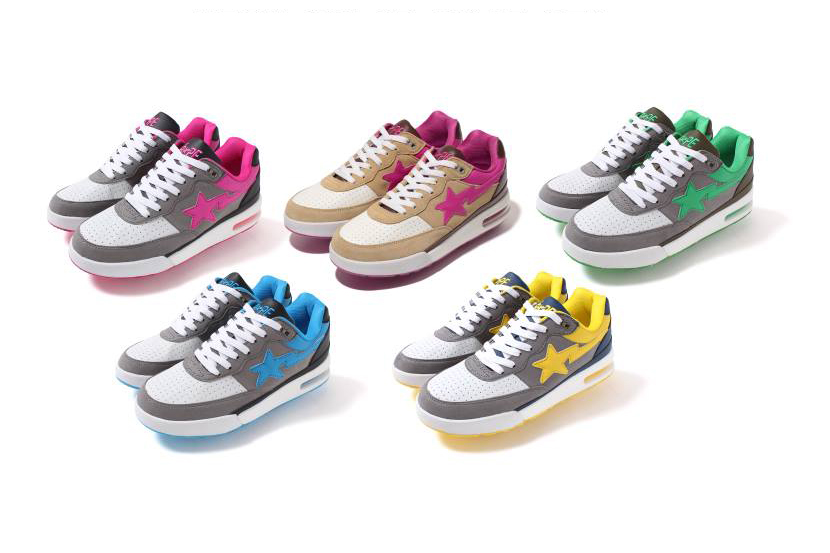 Image of A Bathing Ape 2013 Fall/Winter NEON COLOR ROAD STA