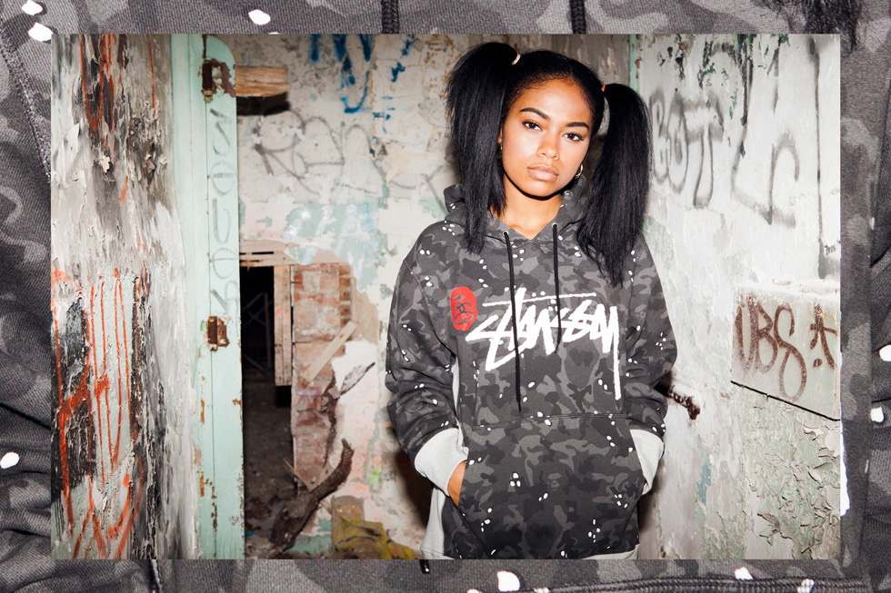"Image of  A Bathing Ape x Stussy 2013 Fall/Winter ""Ill Collaboration"" Lookbook"