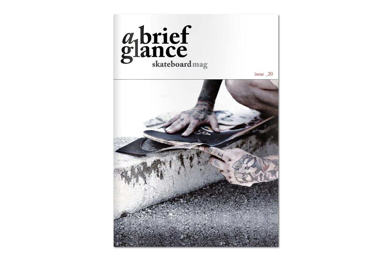 Image of a brief glance Skateboarding Magazine Issue 20