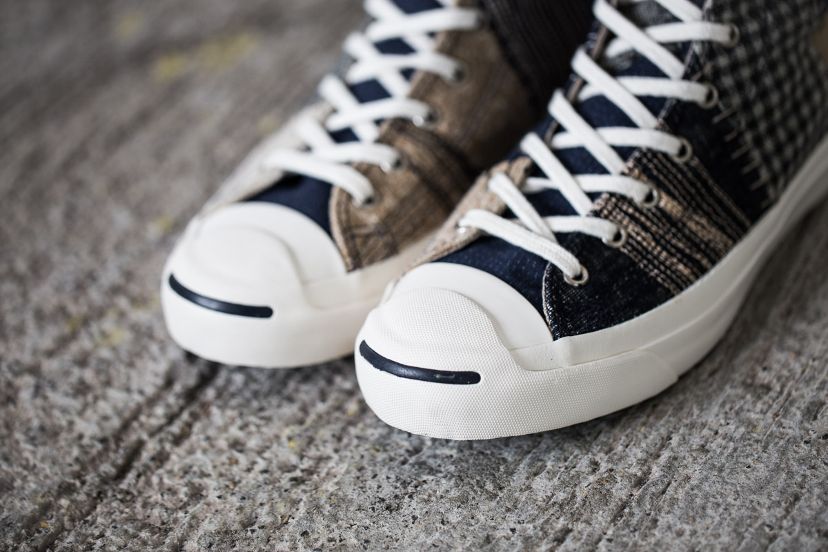 "Image of A Closer Look at the Converse First String Jack Purcell ""Boro"""