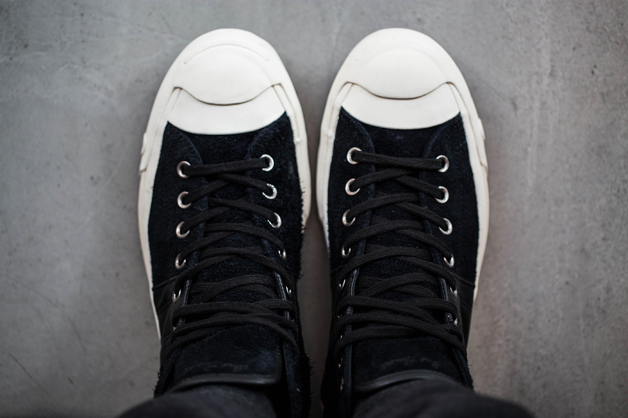 Image of A Closer Look at the INVINCIBLE for Converse First String Jack Purcell Johnny