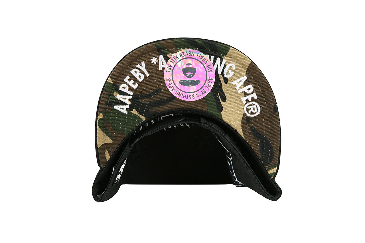 Image of AAPE by A Bathing Ape x New Era Seoul Limited Edition Cap