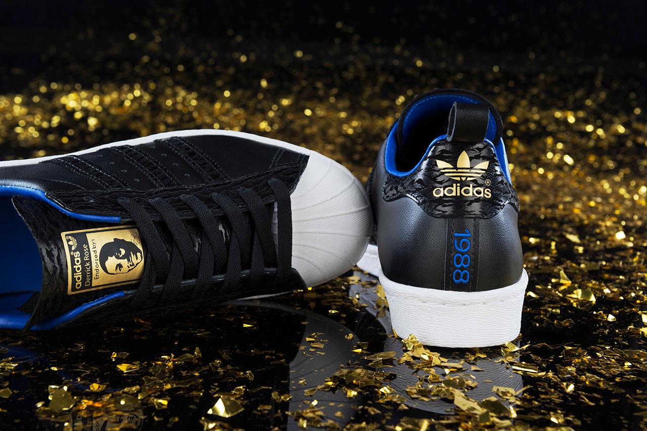 Image of adidas Originals Superstar 80s Derrick Rose 25th Birthday Edition