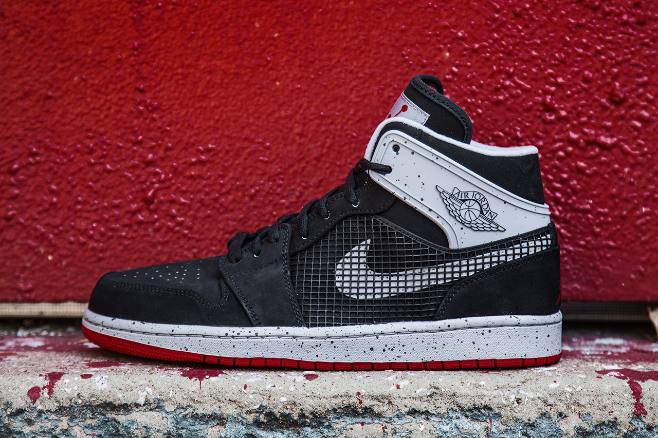 Image of Air Jordan 1 Retro '89 Black/Fire Red