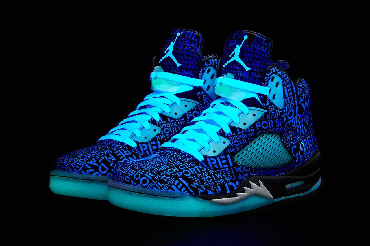 "Image of Air Jordan 5 Retro Doernbecher Freestyle ""Isaac Arzate"""