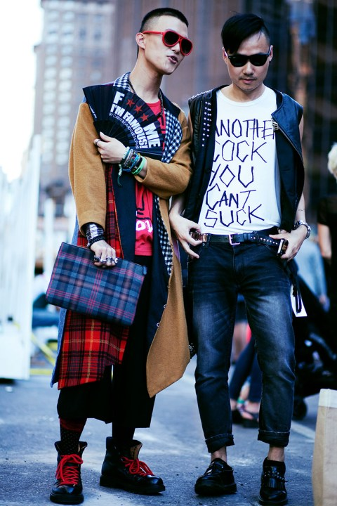 Image of Alt-Beauty: NYFW 2013 Fall Street Styles