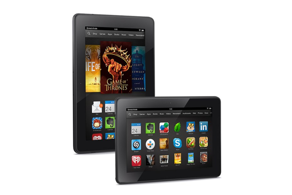 Image of Amazon Introduces the Kindle Fire HDX