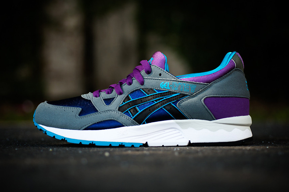 Image of ASICS Gel Lyte V Grey/Purple