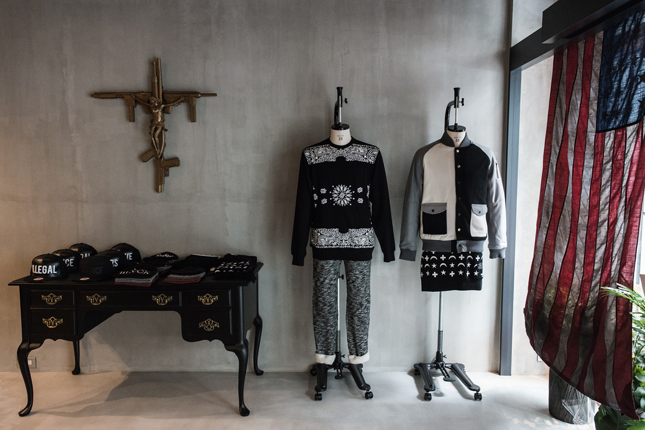 Image of  Black Scale Tokyo Grand Opening