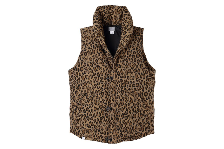 Image of BLACK SENSE x Deluxe 2013 Fall/Winter Leopard Pattern Down Vest