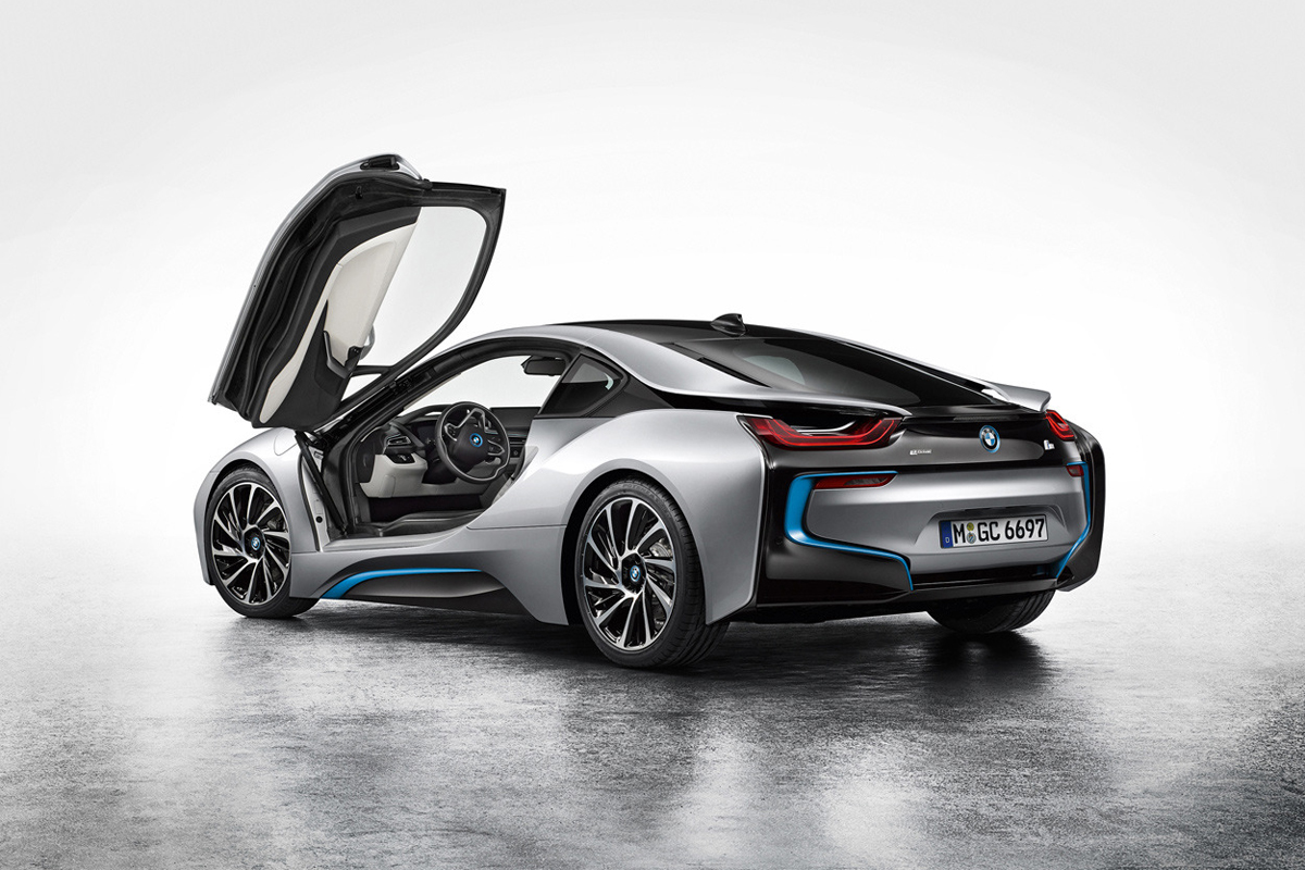 Image of BMW Debuts the i8 Hybrid Sportscar