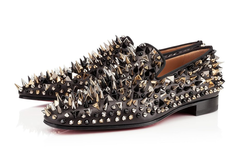 Image of Christian Louboutin Dandy Pik Pik Black Leather
