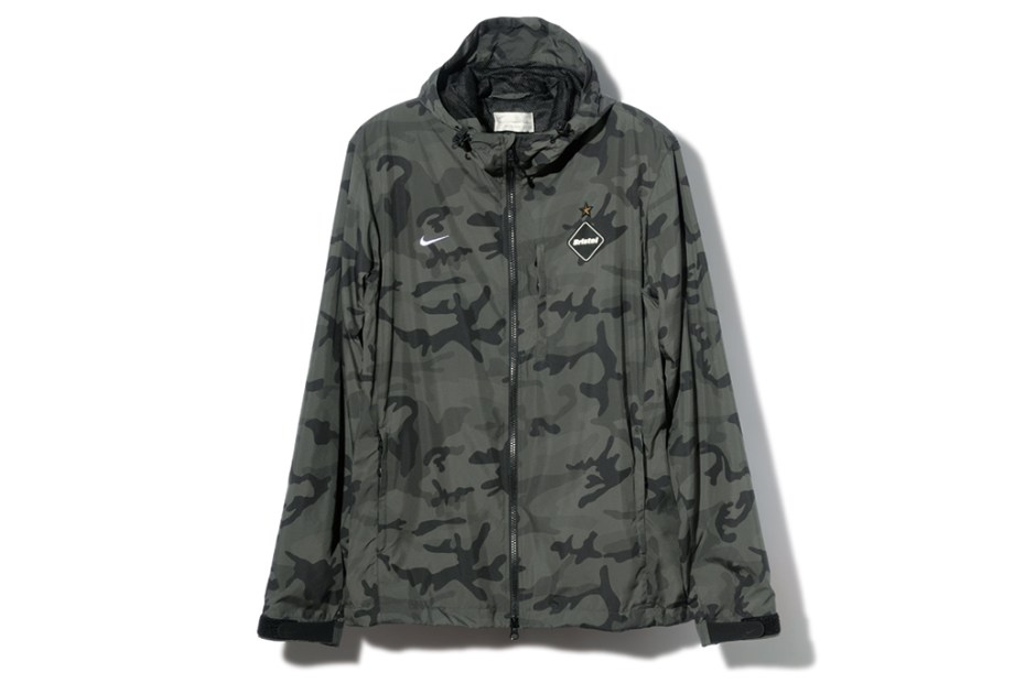 Image of F.C.R.B. 2013 Fall/Winter CAMOUFLAGE TRAINING JACKETS