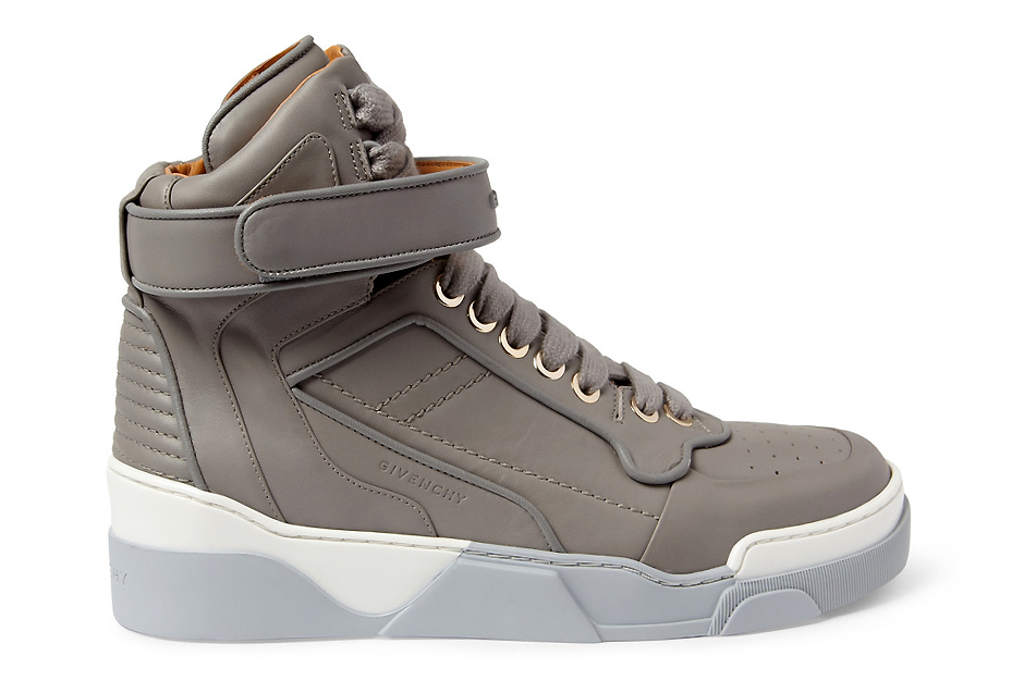 Image of Givenchy 2013 Fall Leather High Top Sneakers Collection