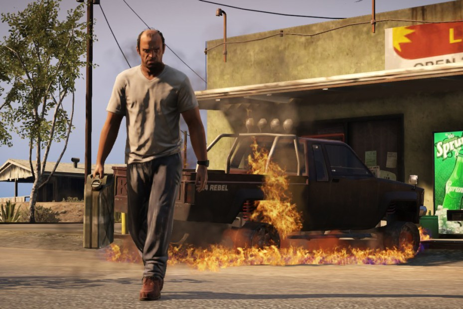 Image of Grand Theft Auto V Sells $800 Million in One Day