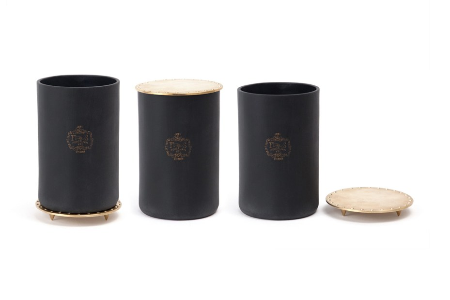 "Image of Harrods of London x Joya ""Oud, Leather & Plume Cedar"" Candle"