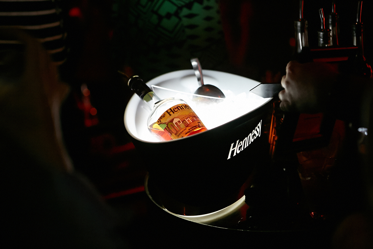 Image of Hennessy Introduces the Very Special Limited Edition Bottle by Os Gemeos Los Angeles Launch Event @ Emerson Recap