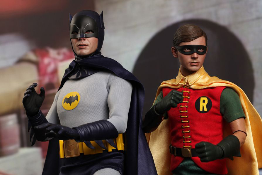 Image of Hot Toys Batman 1966 TV Series 1:6 Scale Collectible Figure