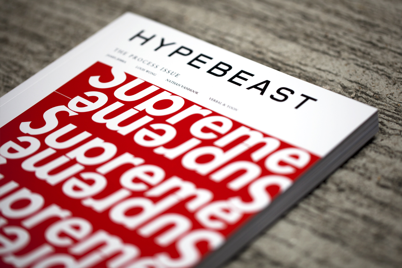 Image of HYPEBEAST Magazine Issue 5: The Process Issue