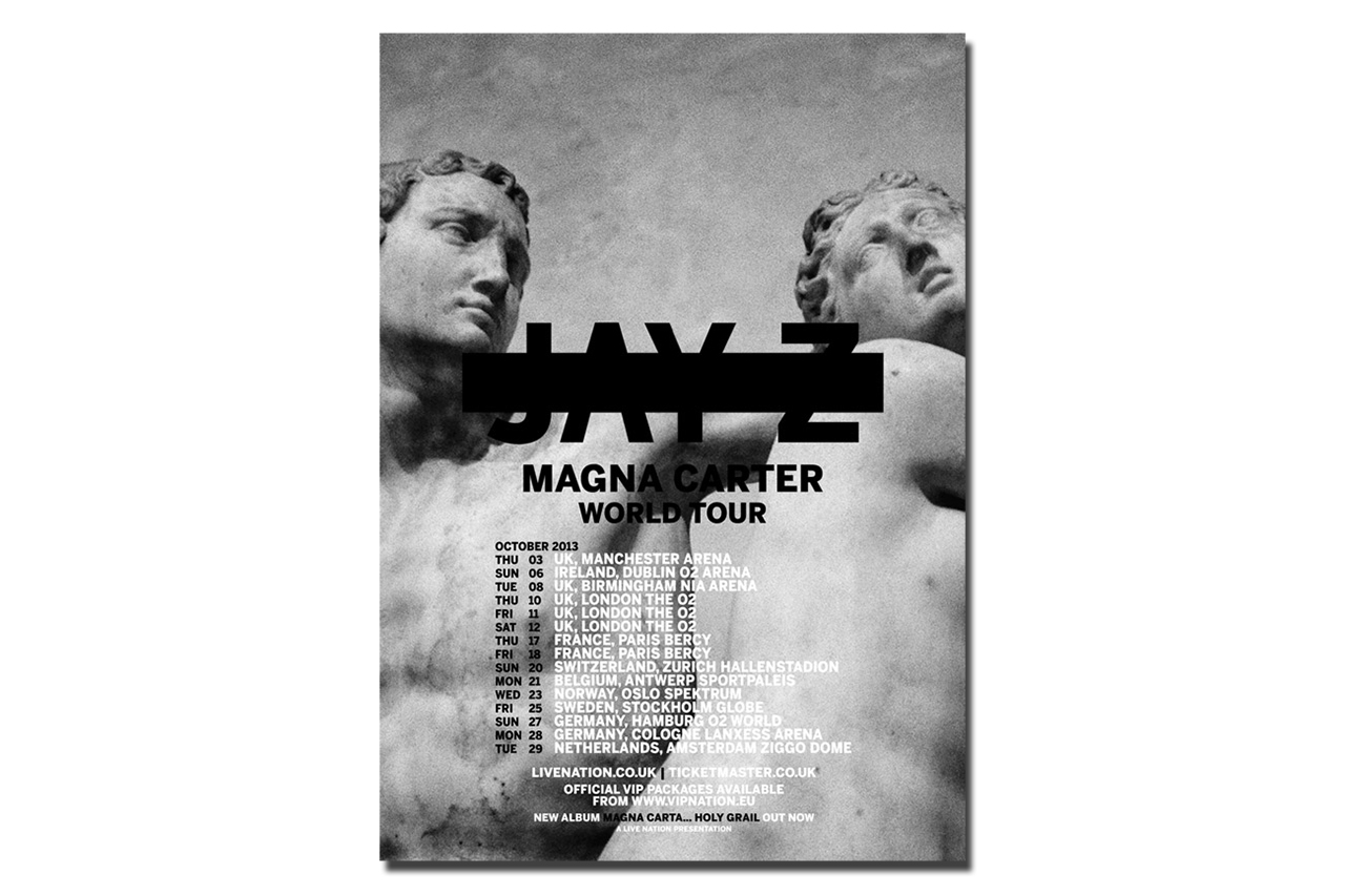 Image of Jay Z Announces Magna Carter World Tour Starting October 3rd
