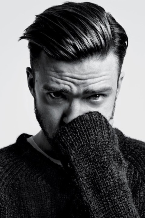 Image of Justin Timberlake for T Magazine by Hedi Slimane