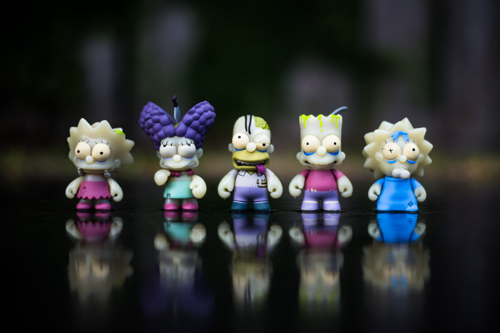 Image of Kidrobot x The Simpsons Zombie Treehouse of Horror