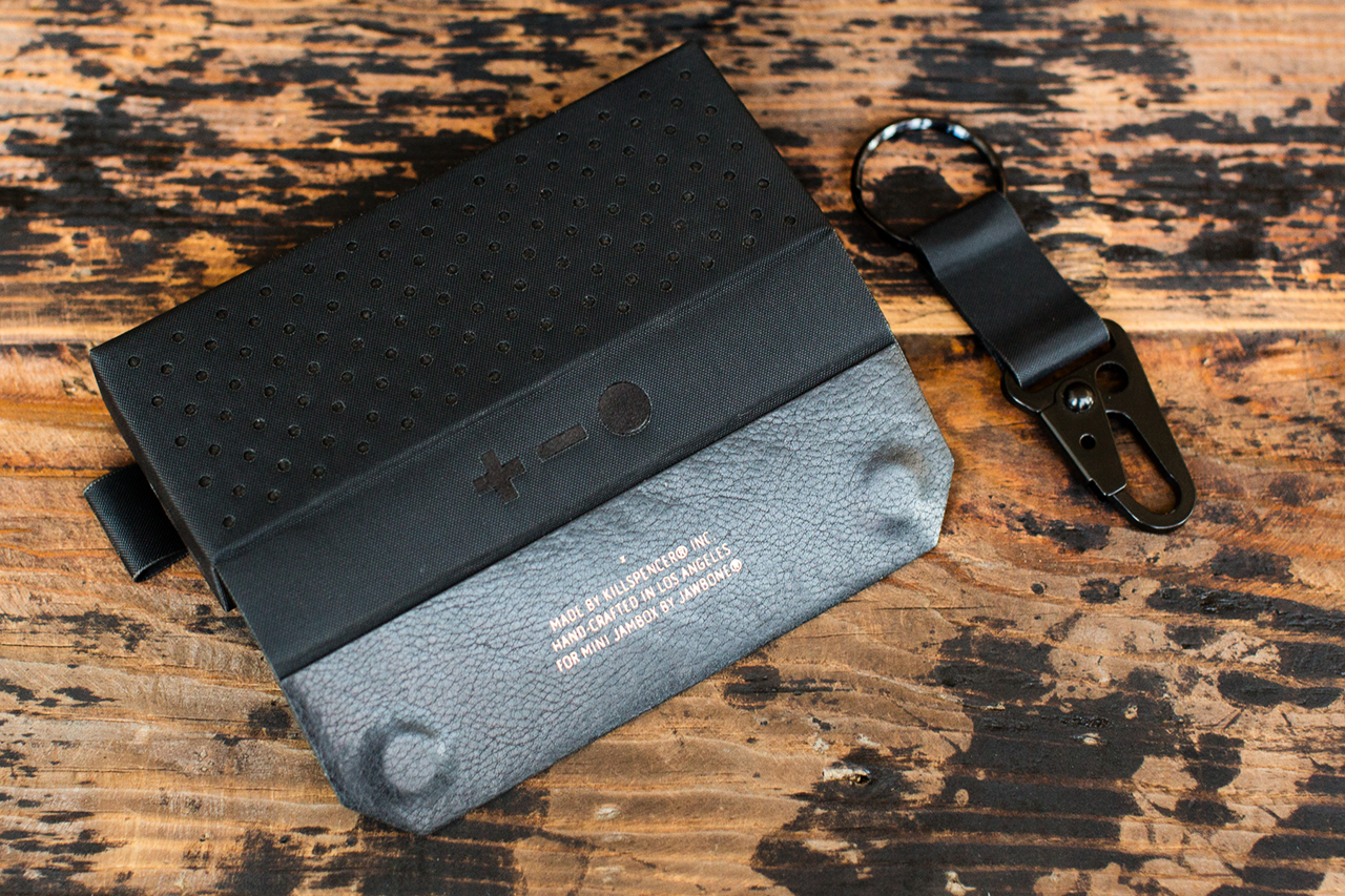 Image of KILLSPENCER Leather Speaker Case for the MINI JAMBOX