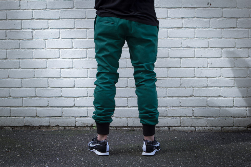 "Image of Kith Kicks Off ""Mercer Mondays"" with the 20 oz Forest Green Mercer Pants"