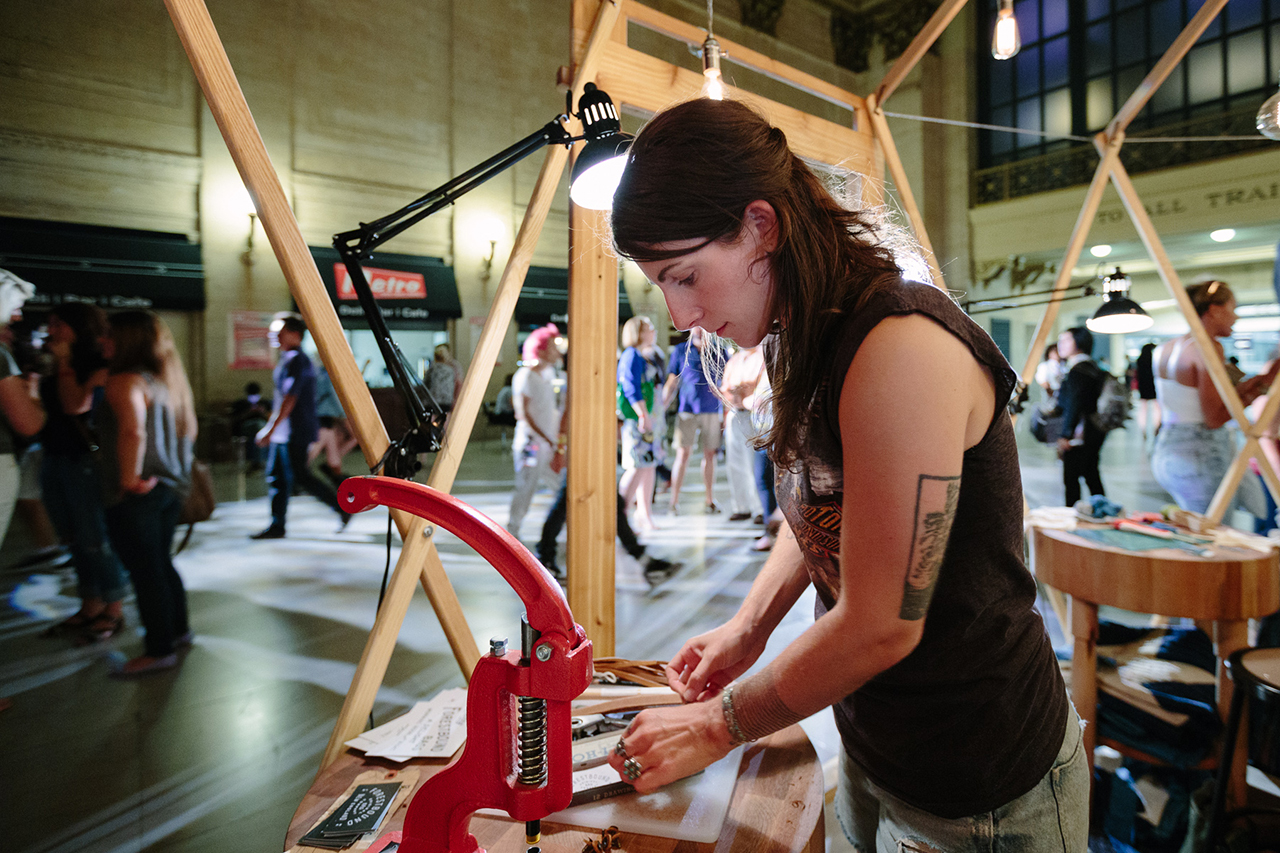 Image of Levi's® Station to Station: PROCESS with Alice Saunders of Forestbound