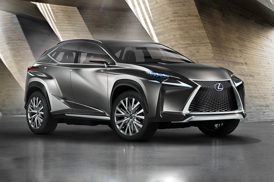 Image of Lexus LF-NX Crossover Concept