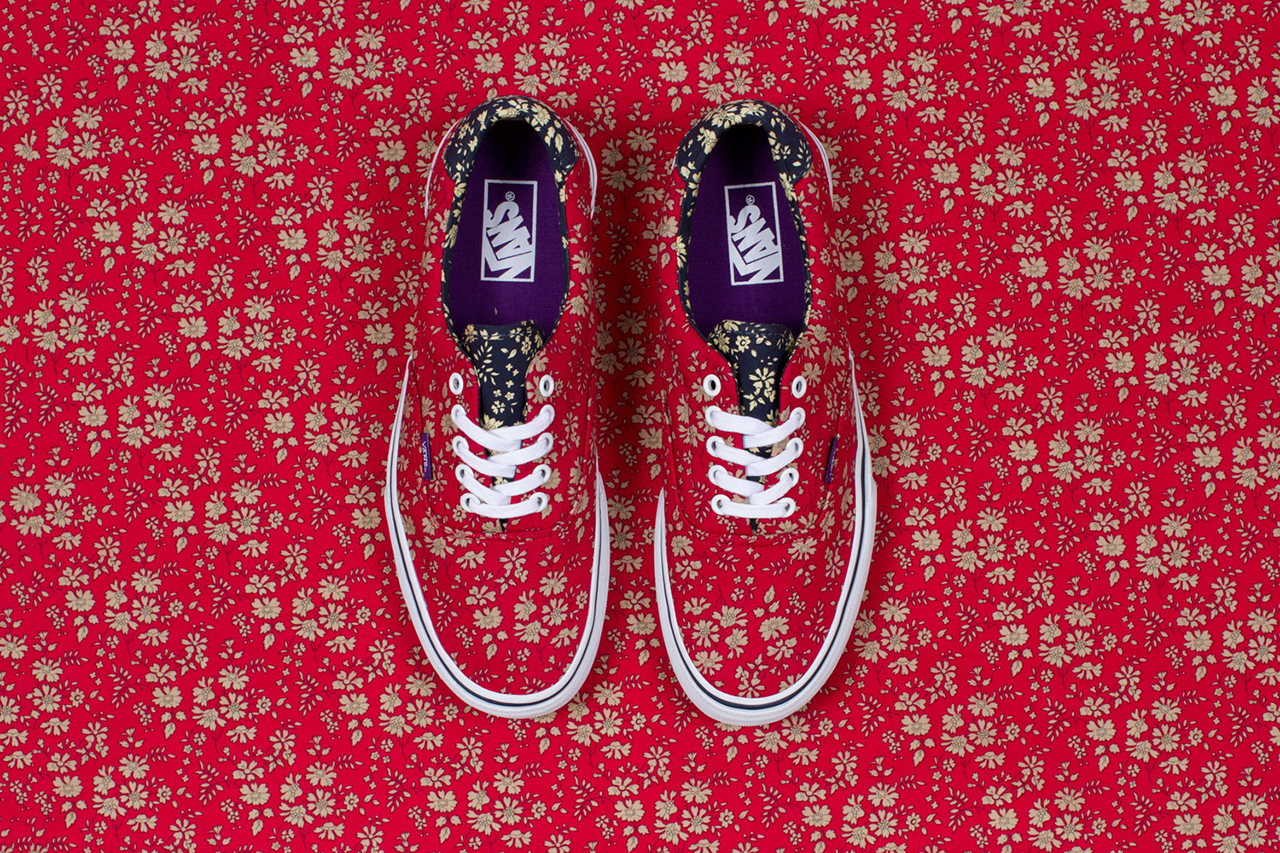 Image of Liberty Art Fabrics x Vans 2013 Holiday Collection