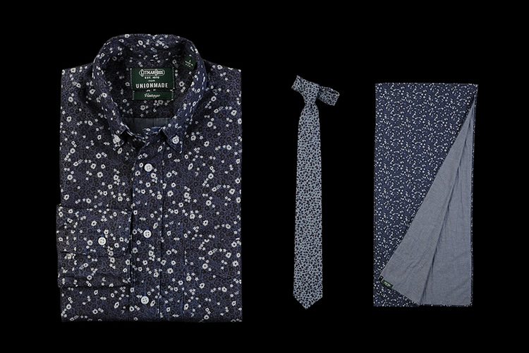 Image of Liberty of London x Gitman Brothers for Unionmade 2013 Fall/Winter Collection