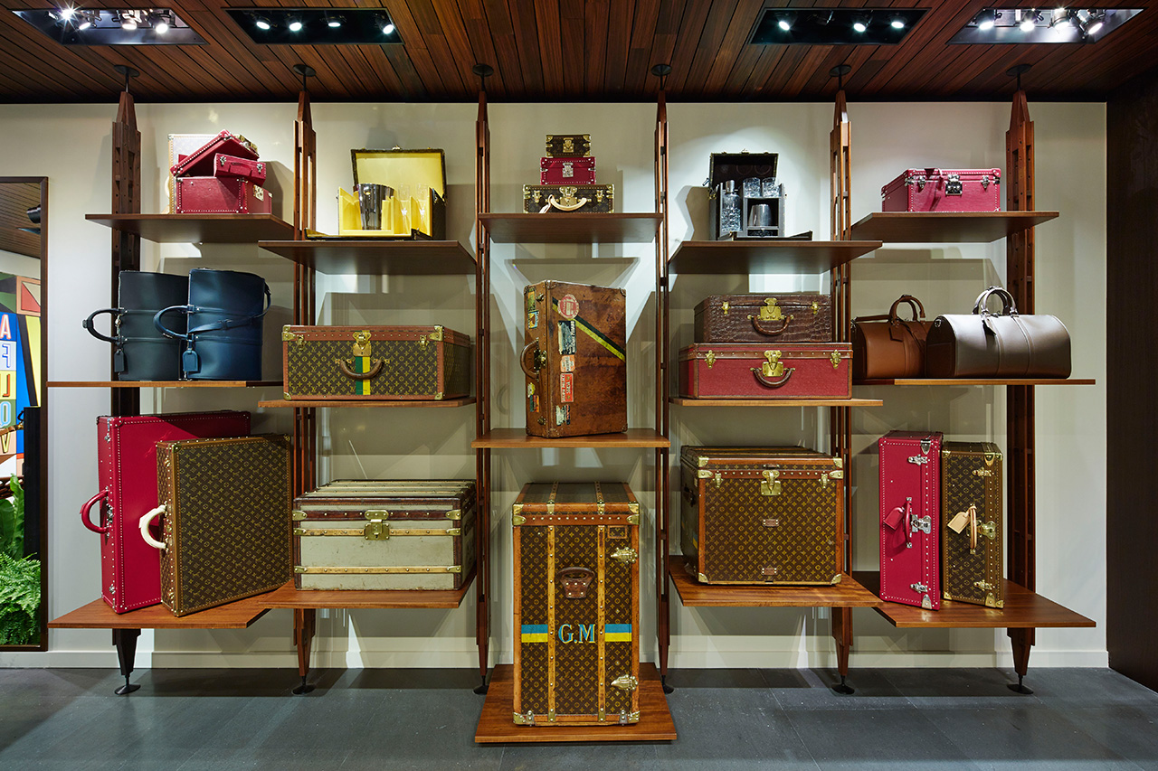 Image of Louis Vuitton L'Aventure Pop-Up Store