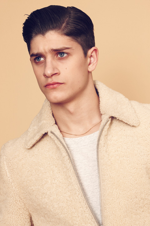 Image of Louis W. for A.P.C. 2013 Fall/Winter Lookbook