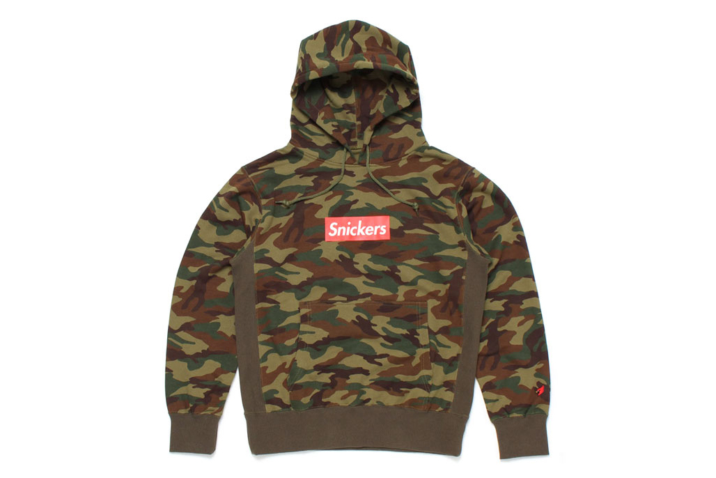 "Image of Mark McNairy for Heather Grey Wall 2013 Fall/Winter ""Snickers"" Camo Hoodie"