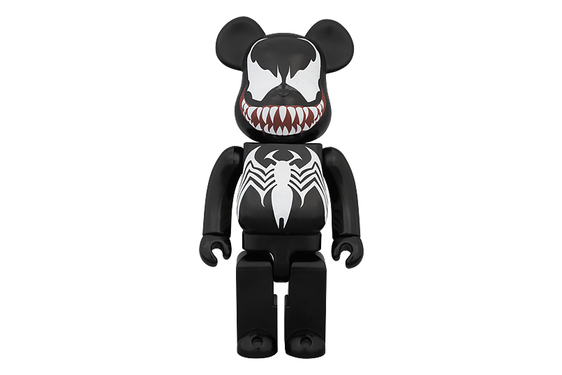 Image of Marvel x Medicom Toy 400% Venom Bearbrick