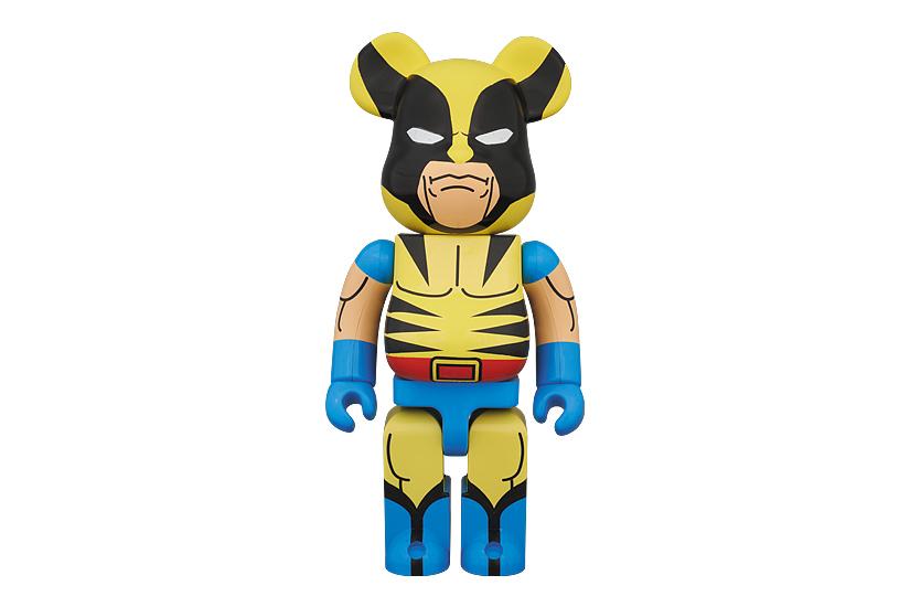 Image of Marvel x Medicom Toy 400% Wolverine Bearbrick