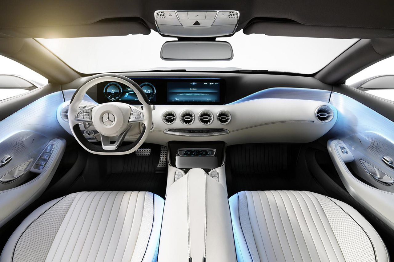 Image of Mercedes-Benz S-Class Coupe Concept