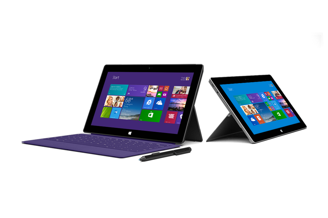 Image of Microsoft Unveils Surface 2 & Surface Pro 2