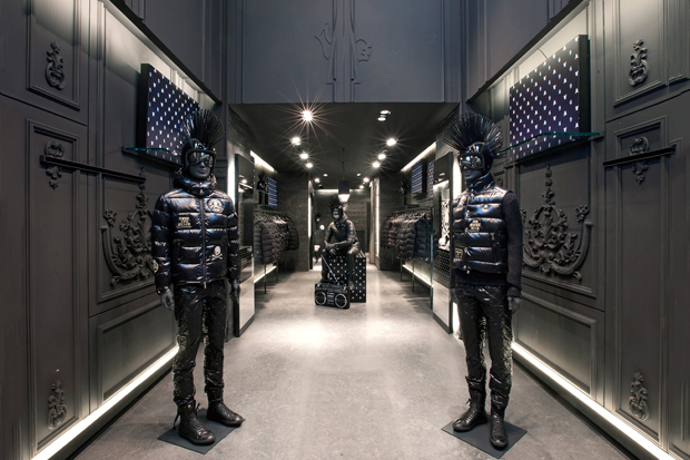 Image of Moncler x mastermind JAPAN Paris Boutique