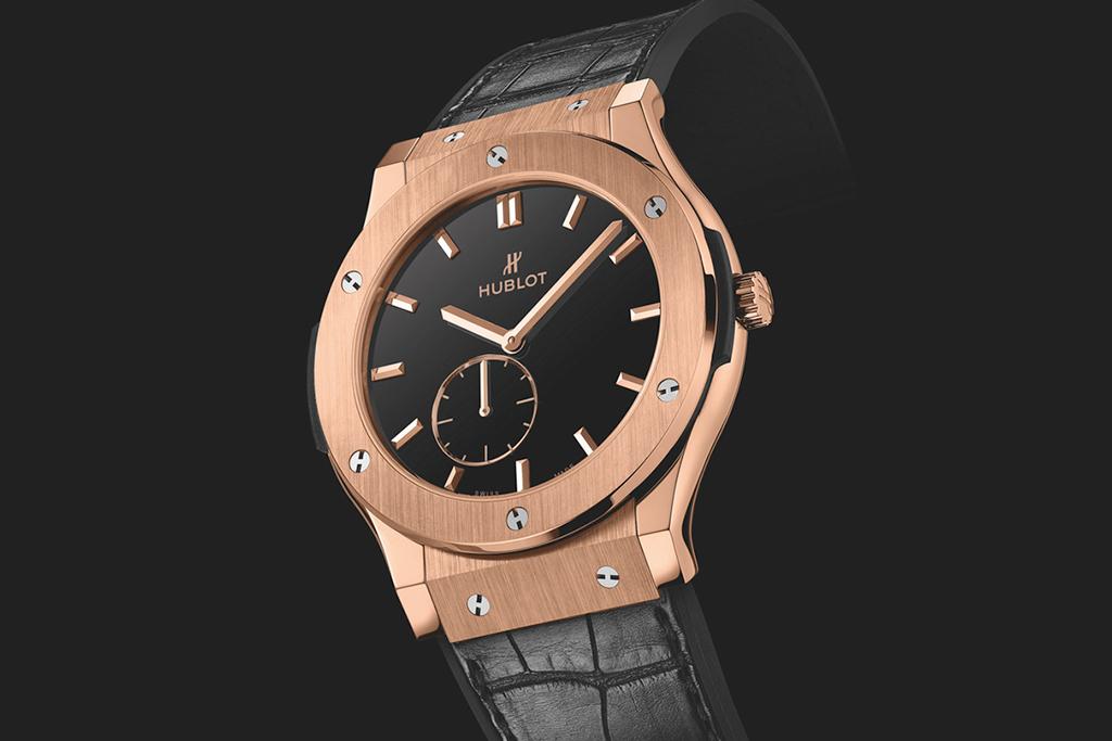 Image of Nas' Custom Hublot Classic Fusion Ultra-Thin Timepiece